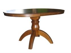 Стіл з круглою стільницею «Вікторія» 1000(1400)х1000