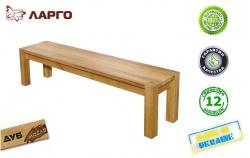 Лавка Ларго / Largo дерев'яна без спинки (Грамма ТМ), Дуб,…