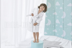 Дитячий махровий халат Єнот
