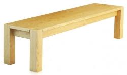 Лавка Ларго / Largo дерев'яна без спинки (Грамма ТМ), Дуб, 7 кольорів