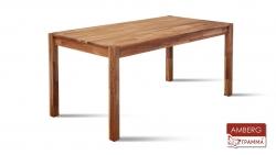 Стіл Амберг / Amberg дерев'яний обідній кухонний (Грамма ТМ), Дуб, 9 кольорів