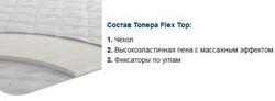 Матрац топпер FLEX TOP