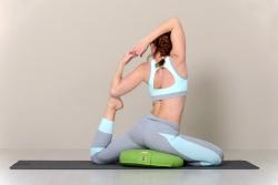 Подушка для медитації і йоги з гречаною лузгою
