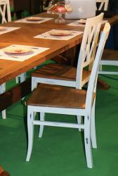 Стілець Френч «Ретро» дерев'яний кухонний (Грамма ТМ), матеріал Бук/Дуб