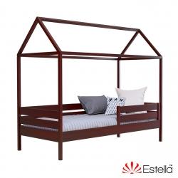 Дерев'яне дитяче ліжко АММІ ТМ Естелла, матеріал бук, основа ламелі, ящики для білизни, 8 кольорів