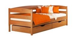 Дерев'яне ліжко НОТА ПЛЮС ТМ Естелла, дитяче односпальне, матеріал бук,…