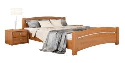 Дерев'яне ліжко ВЕНЕЦІЯ ТМ Естелла, матеріал бук, основа ламелі, 8…