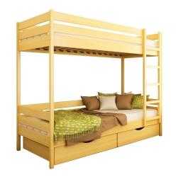 Двоярусне дитяче ліжко ДУЕТ ТМ Естелла двоxярусне, двоповерхове з драбиною,…
