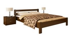 Дерев'яне ліжко РЕНАТА ТМ Естелла, матеріал бук, основа ламелі, 8…