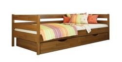 Дерев'яне ліжко НОТА ТМ Естелла, дитяче односпальне, матеріал бук, основа…